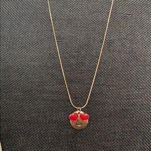 Love emoji necklace